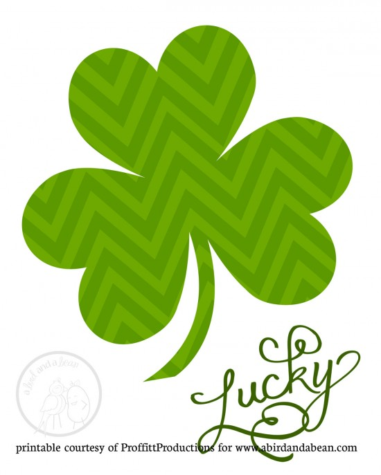 image regarding St Patrick's Day Clover Printable identified as St. Patricks Working day Cost-free Subway Artwork Printable - Printables 4 Mother