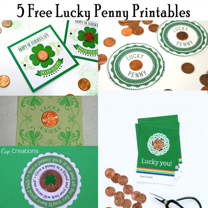Lucky Penny Printable for St. Patrick's Day! - Printables ...
