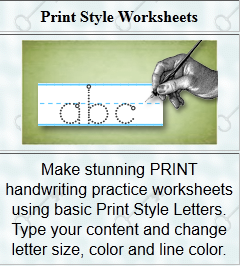 Handwriting Worksheets Com: Printable Handwriting Worksheets   Printables 4 Mom,