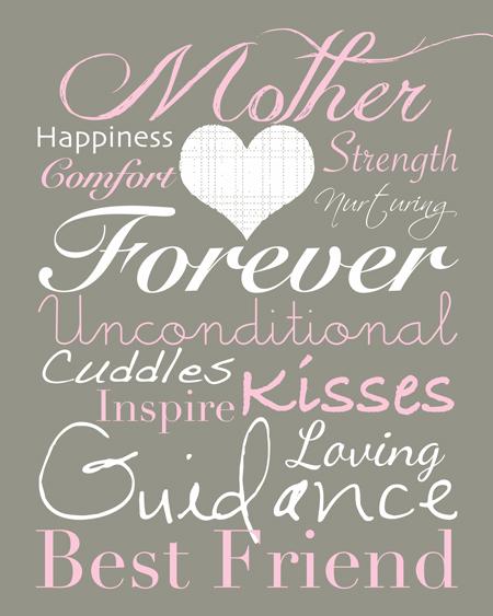 Mother forever printable mother s day art from lovely living