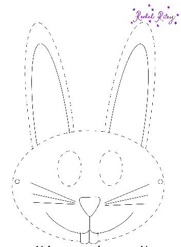 graphic about Printable Bunny Mask known as Printable Easter Bunny Mask! - Printables 4 Mother