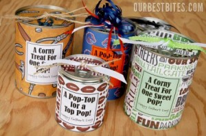 father's day treat printable cans free gift cheap dad ideas