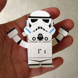 photo about Star Wars Printable Crafts known as Printable 3D Star Wars People - Printables 4 Mother