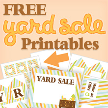 graphic relating to Printable Garage Sale Signs titled printable-backyard-sale-signs and symptoms-no cost - Printables 4 Mother