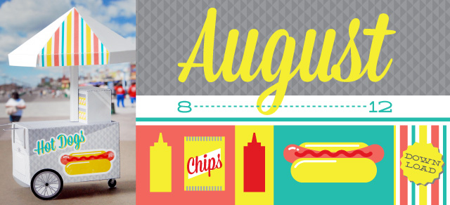 August Calendar Of The Month Club Printable Printables 4 Mom