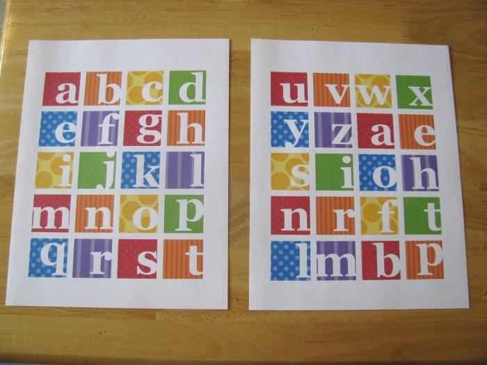 Printable 3d Alphabet Toys And Games Printables 4 Mom