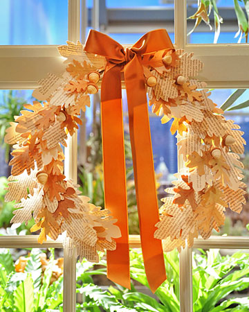 Craft Ideas Cheap on Fall Printable Wreath Craft Autumn Cheap Frugal Gift Ideas Mom Door