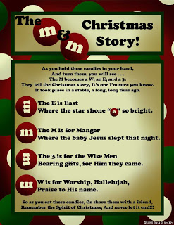 This is a photo of Critical M&m Christmas Poem Printable