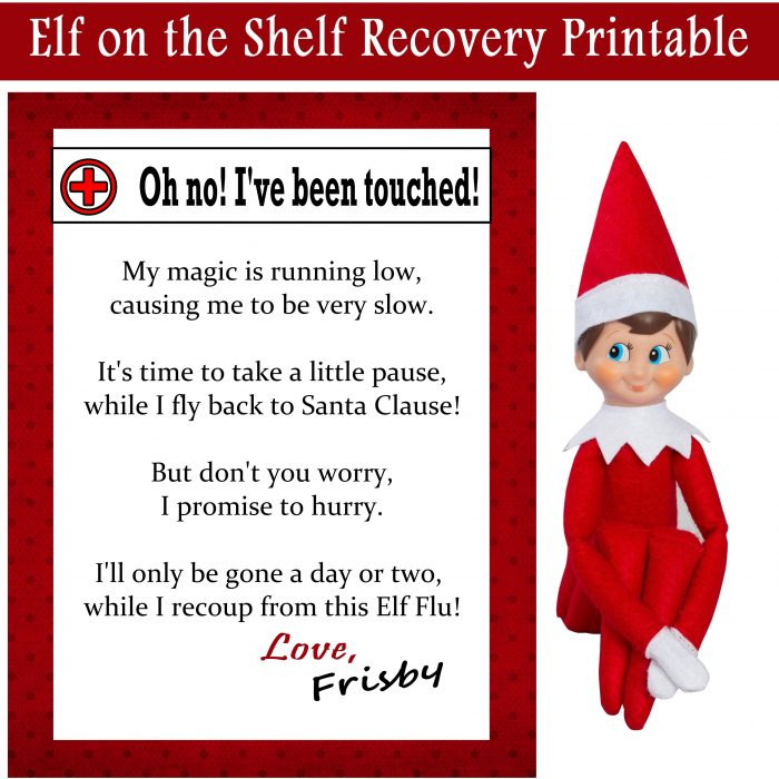 Elf Magical Recovery Kit Free Printables Printables 4 Mom