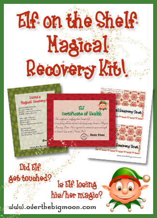 Elf Magical Recovery Kit Printables 4 Mom