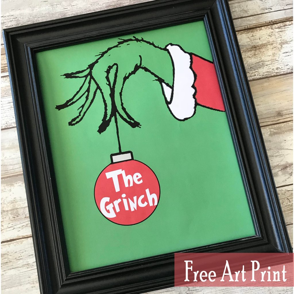 graphic about Grinch Printable Template titled The Grinch Free of charge Artwork Printable for Xmas - Printables 4 Mother