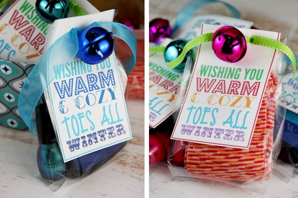 Free Printable Christmas Gift Idea Winter Holiday Frugal Cheap Diy
