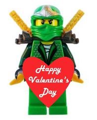 Free Lego Valentine's Day Printable
