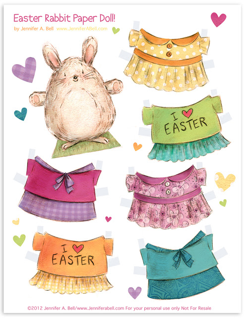 free printable easter egg paper dolls frugal cheap gift idea easter baskets diy tutorial