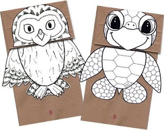 image regarding Printable Craft for Kids named puppet paper totally free printable craft young children entertain e-book craft