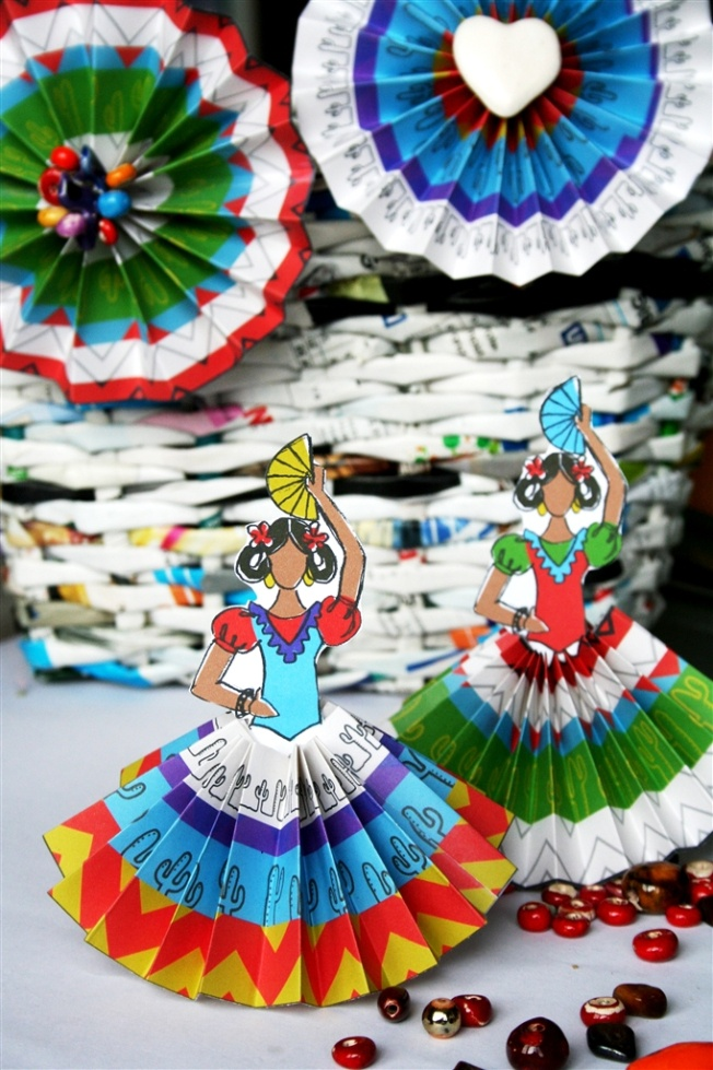 free cinco de mayo printable decorations gift dolls