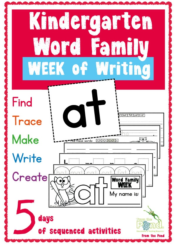 Printable Word Family Worksheets : Word family quot at printables mom