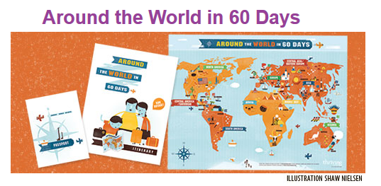 around the world in 60 days earth learn education homeschool learn summer free reading geography