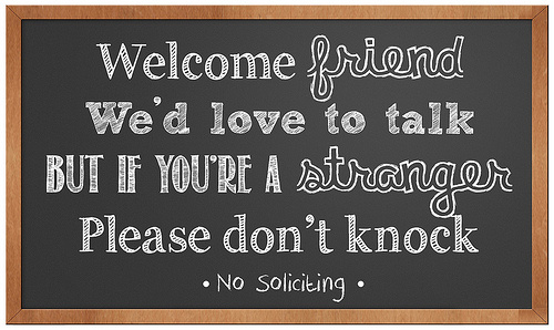 free printable cheap no soliciting sign don't knock we can play we can't play friends strangers