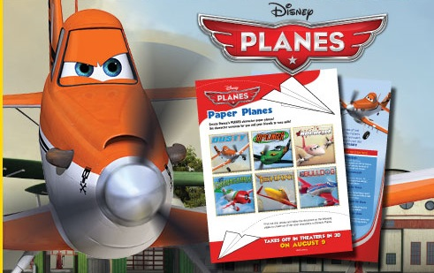 free printable planes airplanes template paper planes kids free cheap frugal gifts