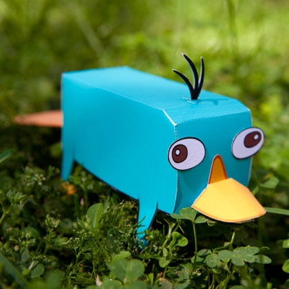 Perry Platypus Toy images