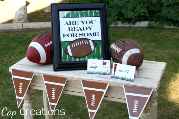 are you ready for some football free printables party diy tailgate tail gating