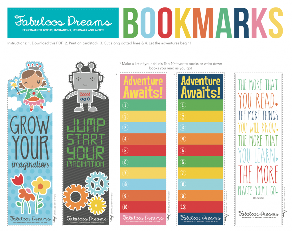 Printable Coloring Bookmarks Free : Bookmarks