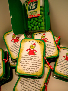 photo relating to Grinch Pills Free Printable named Do it yourself Grinch Tablets Present - Printables 4 Mother