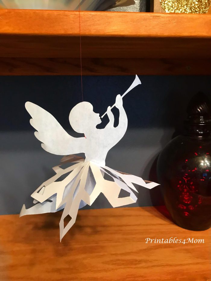 Paper Ballerina Snowflakes Angels And Fairies