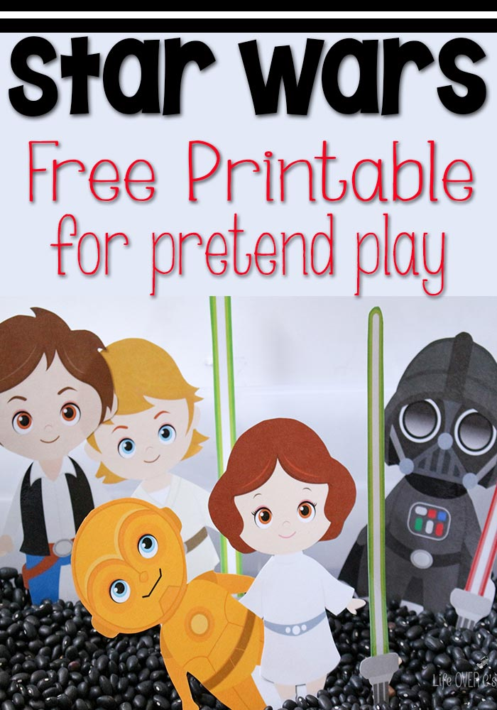 image relating to Printable Characters called Star Wars Faux Enjoy People - Printables 4 Mother