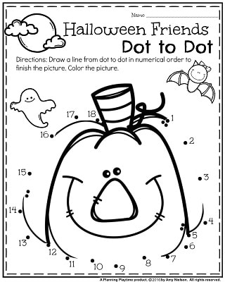 Halloween Freebie Activities, Count It and More ...