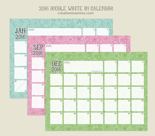 creativemamma_2016-Calendar