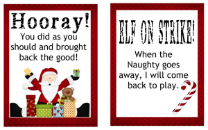 picture relating to Elf on the Shelf Return Letter Printable titled Elf upon the Shelf Archives - Printables 4 Mother