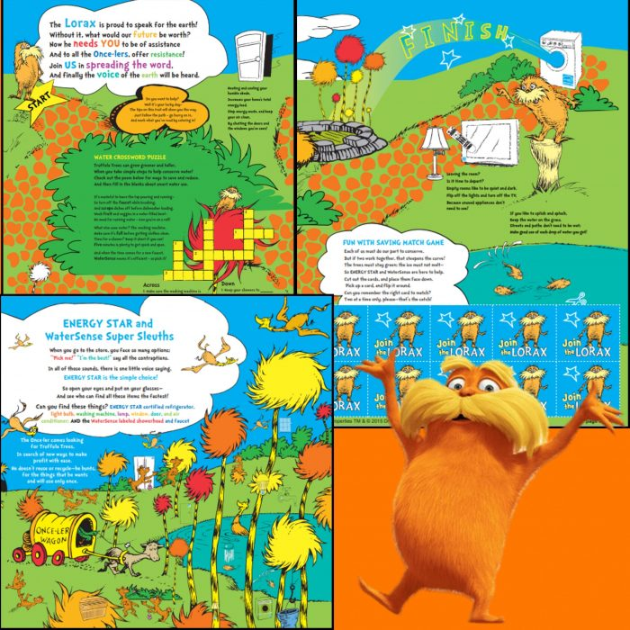 Lorax Earth Day Activity Sheets