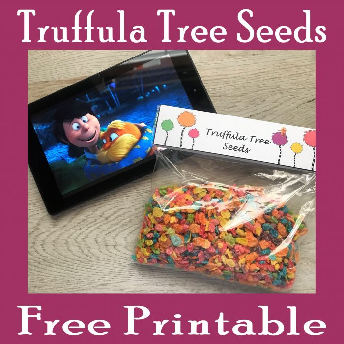 Truffula Tree Seeds Printable Toppers