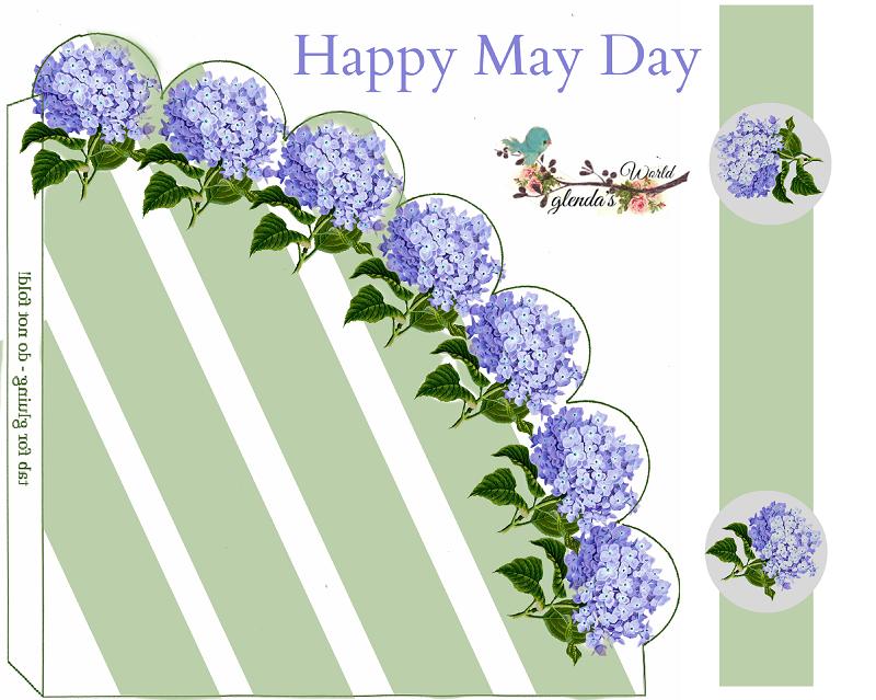 lilacks cone may basket by glenda@glenda s world-post pic