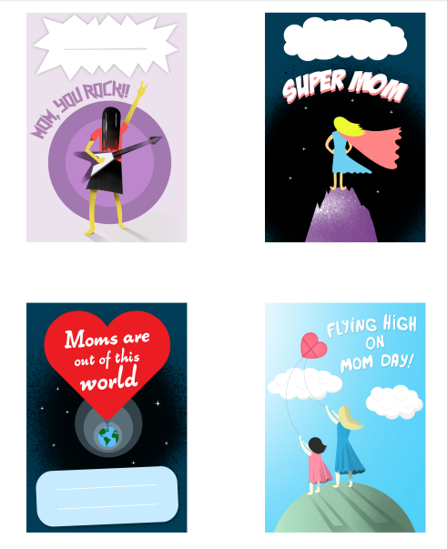 Free Printable Mother's Day Stickers