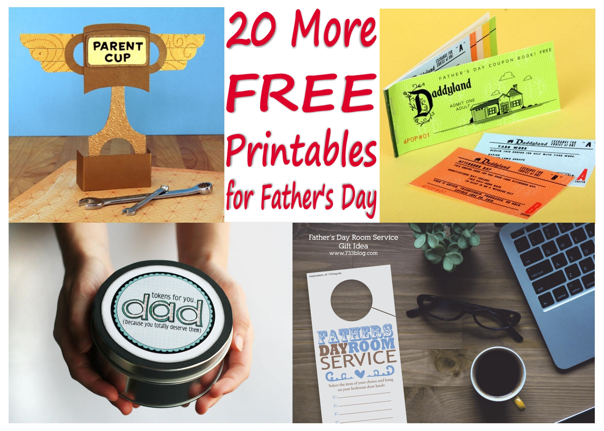 20 more free father u0027s day gift printables printables 4 mom