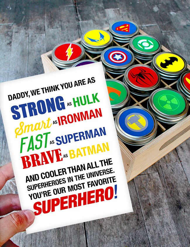 Superhero-Fathers-Day-Gift-Idea