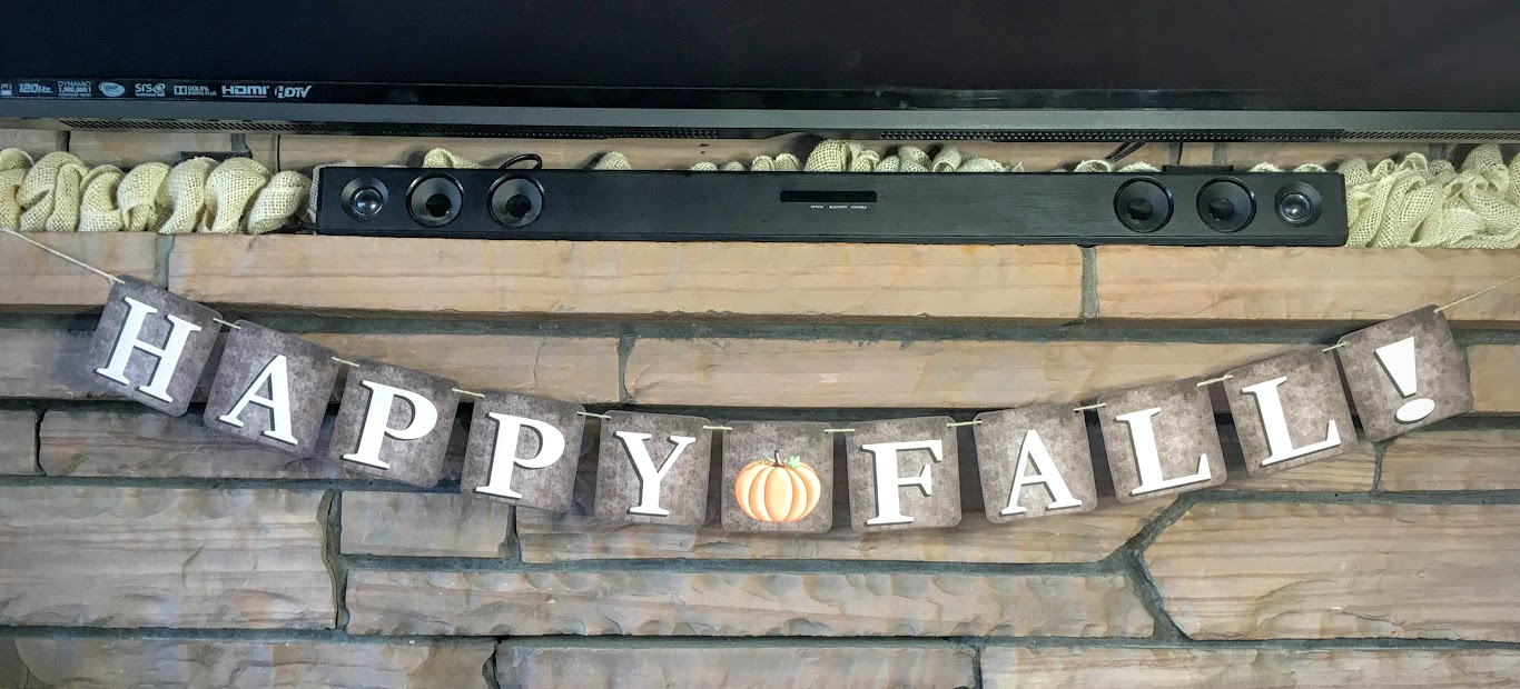 Happy Fall! Printable Banner Decoration