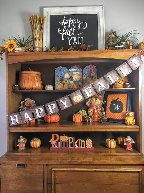 6 Free Thanksgiving and Fall Banners Happy Fall free printable