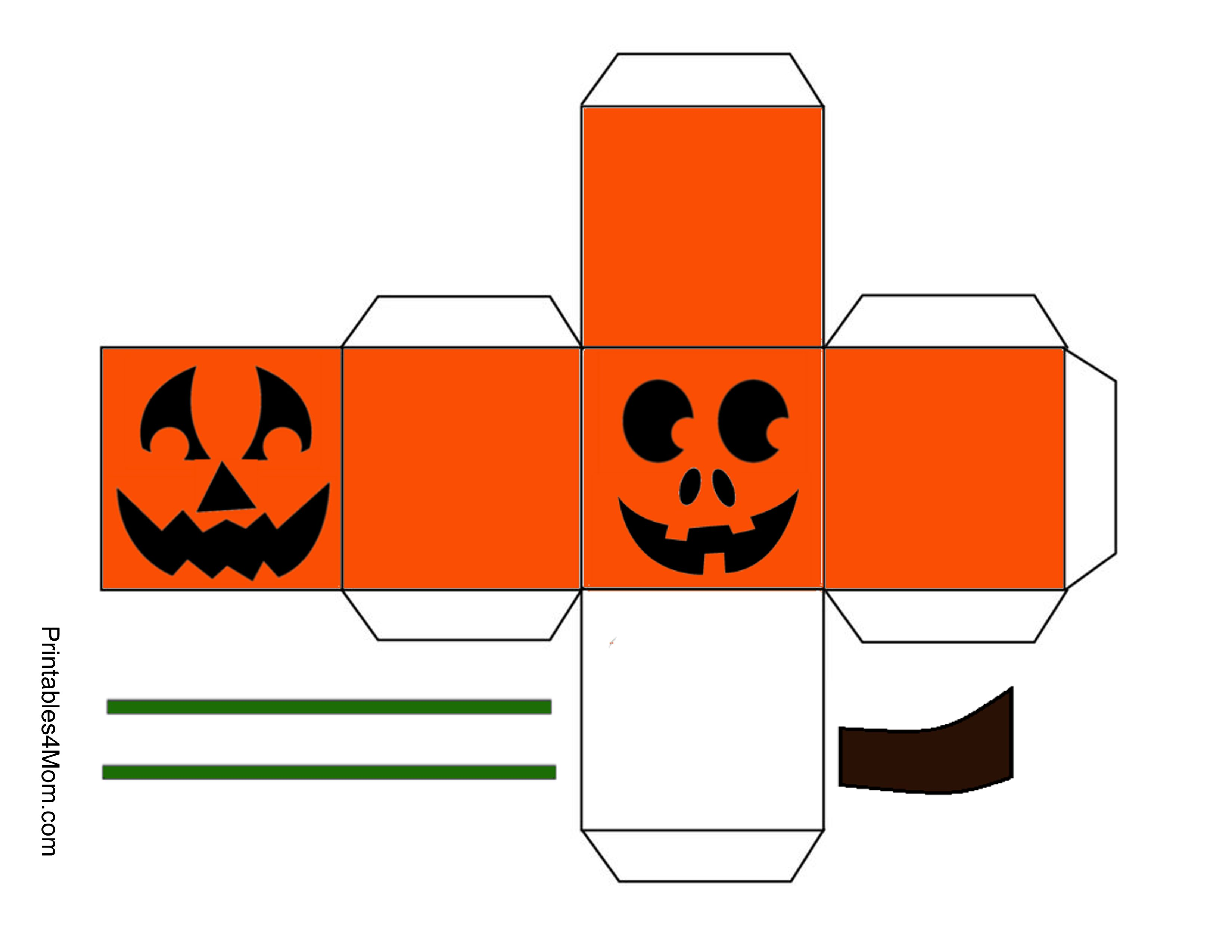 Halloween Treat Boxes Templates 2018 Deals