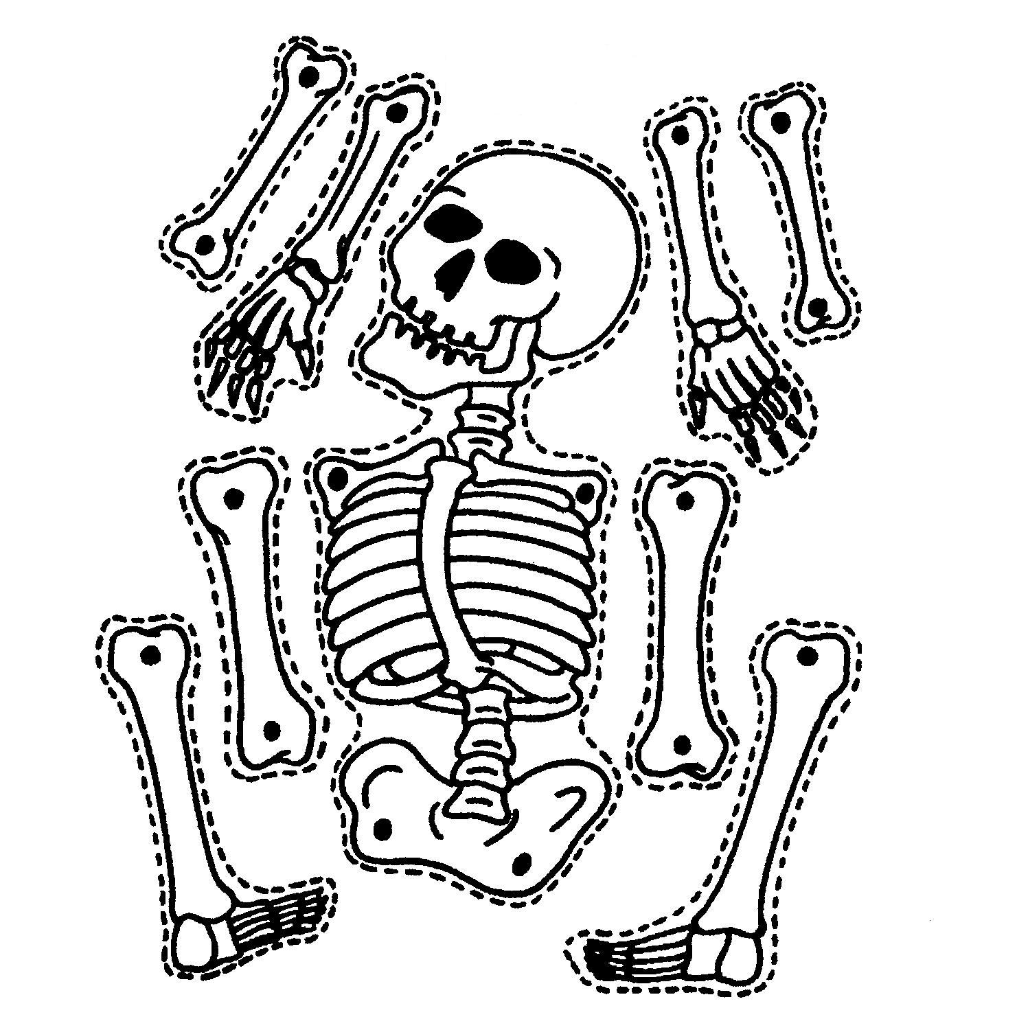9 Printable Skeleton Crafts - Printables 4 Mom