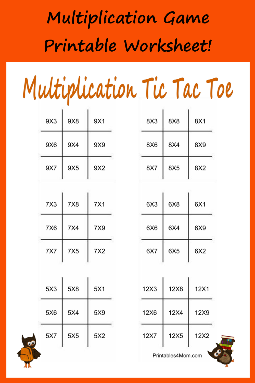 This is a picture of Old Fashioned Printable Multiplication Worksheets
