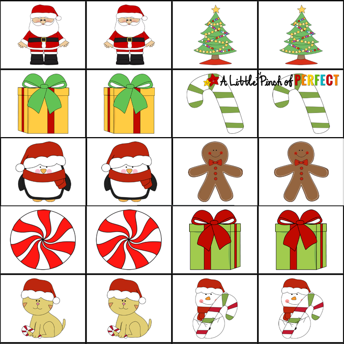 image about Printable Memory Games for Seniors titled 10 No cost, Previous Instant Printable Stocking Stuffer Video games