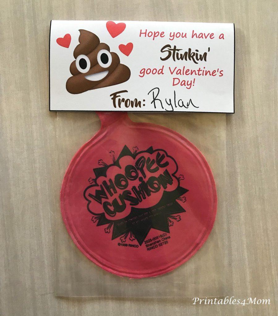 Grab The Printable  U003e Free Poop Emoji Valentineu0027s