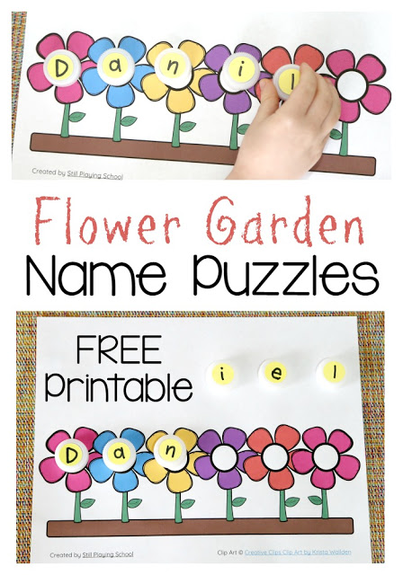 It's just a picture of Unusual Name Puzzle Printable