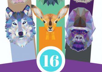 Animal bookmark printables
