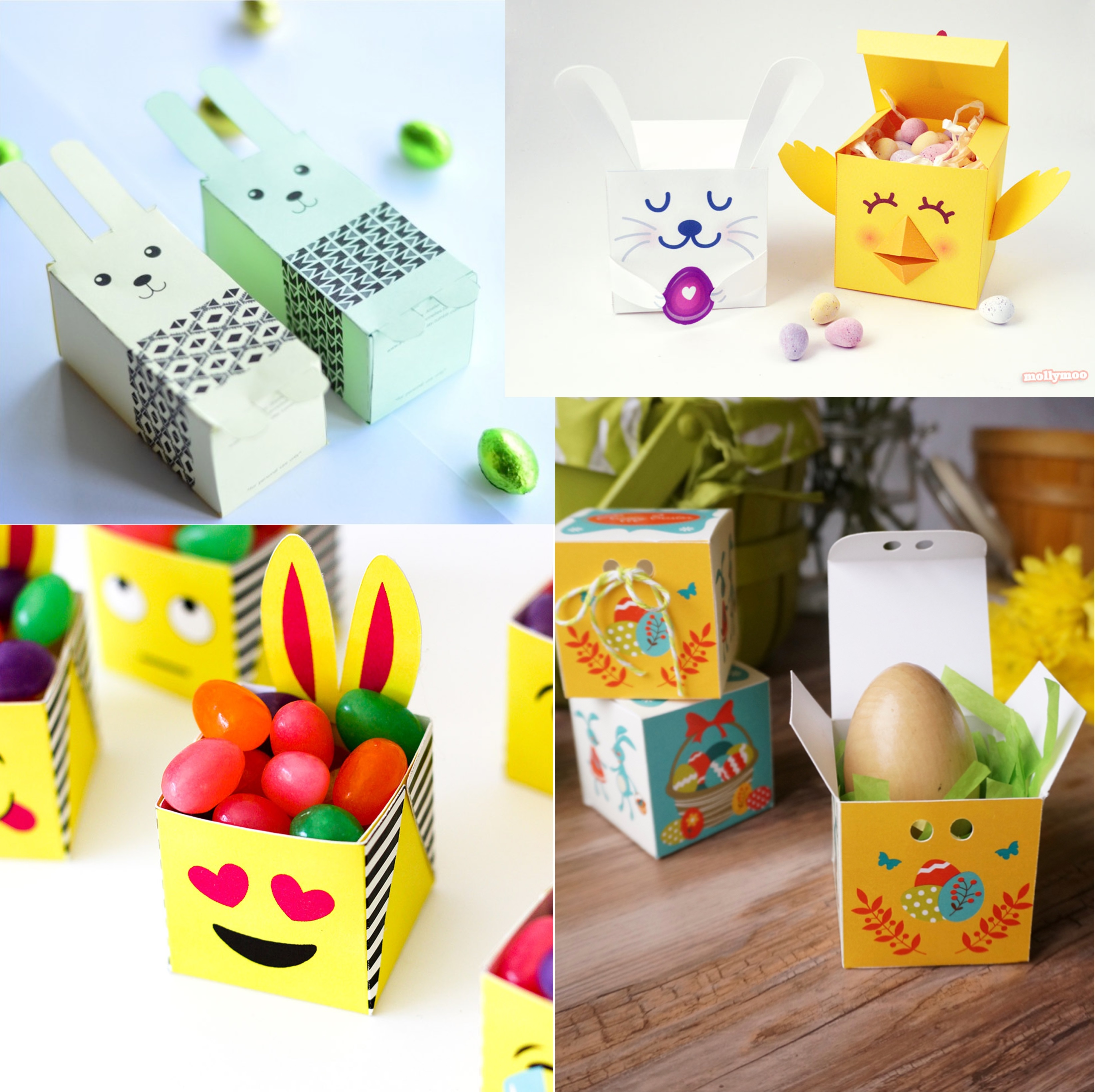 11 FREE Printable Easter Baskets