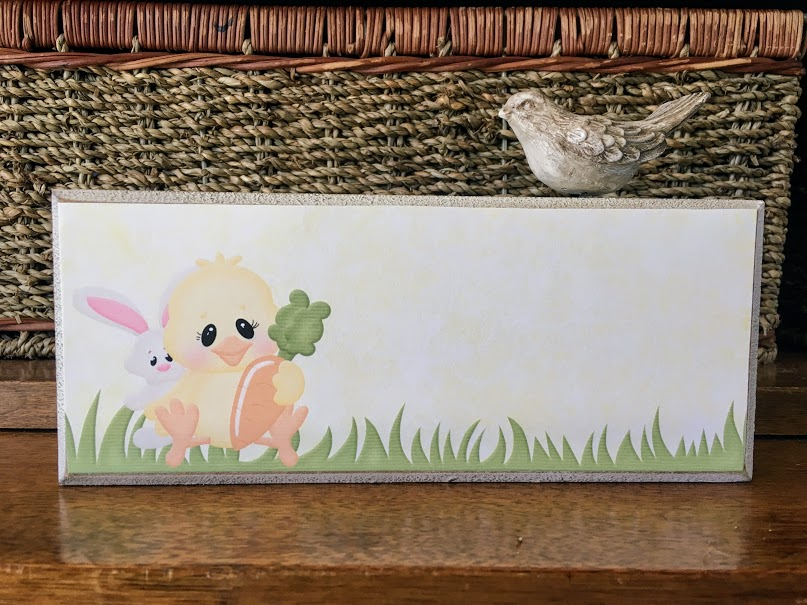 Easter Chick Printable Sign